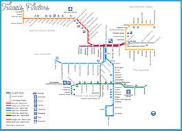 la metro rail map los angeles metro map travel map vacations travelsfinders com