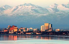 Alaska Map With Cities And Towns by Anchorage Alaska Wikipedia
