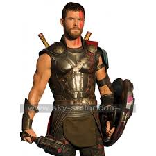 thor costume ragnarok chris hemsworth armour leather costume vest