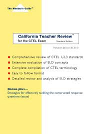 california teacher review tm for the ctel exam theodore johnson