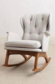 Leather Rocking Chairs For Nursery Ikea Hack Strandmon Rocker Diy Wingback Rocking Chair Nursery