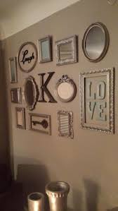 picture frame collage wall turned out so cute decorations picture frame collage wall turned out so cute decorations pinterest frame collage walls collage walls and collage