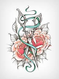 best 25 hairdressing tattoos ideas on pinterest hairstylist