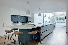 Office Kitchen Furniture by Sleek Minimalist Modern Kitchen Design In Wandsworth With Handle