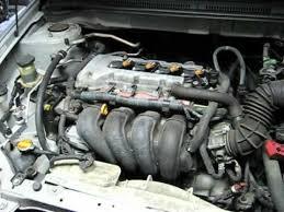 2005 toyota engine 2005 toyota corolla 1zz fe 1 8l i4 engine idling revving after