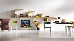 Home Office Bookshelf Ideas Astonishing Modern Bookshelf With Doors Pictures Decoration
