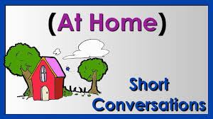 at home easy english conversation practice esl youtube