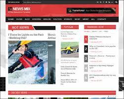 news mix responsive magazine wordpress theme themes4wp