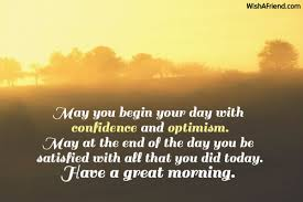 may you begin your day with morning message
