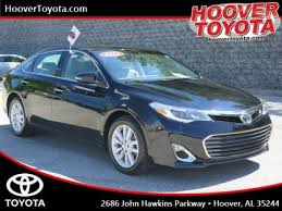 certified used toyota avalon 66 certified pre owned toyotas near birmingham hoover toyota