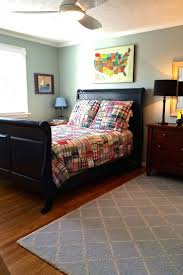 30 best boys rooms images on pinterest boy rooms murals and a navy blue sleigh bed big boy furnishings and bedding from barn kids take tuckers room well into his teen years