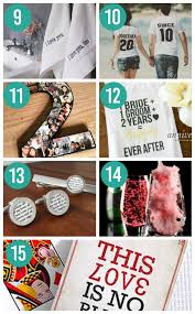 2nd anniversary gift ideas for ideas for wedding anniversary gifts by year the dating divas