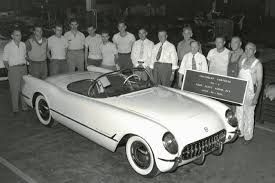 oldest corvette the original 1953 corvette frame cutaway roadster