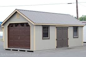 Single Car Garages by Overhead Shed Door Carpetcleaningvirginia Com