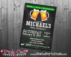 surprise 40th birthday party invitations cimvitation