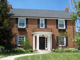 amazing brick style homes interior and exterior designs colonial brick style homes