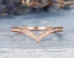 vintage chevron gold diamond v shape ring buy diamond v shape gold wedding band women v shaped ring chevron ring diamond