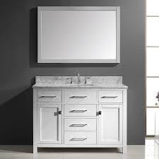 shop virtu usa caroline white undermount single sink bathroom