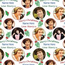 one direction wrapping paper direction christmas wrapping paper