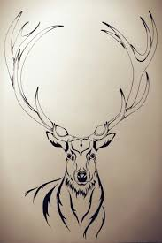 stag illustration tattoo design tattoos pinterest tattoo