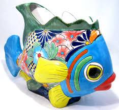 Buy Planters by Talavera Fish Flower Pot Planter Tf001 Talavera To Buy