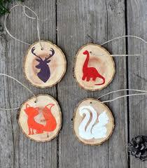 woodland creature diy ornaments allfreeholidaycrafts