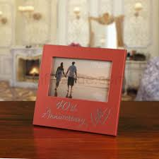 40 wedding anniversary gift 40th ruby wedding anniversary frame gift idea for couples