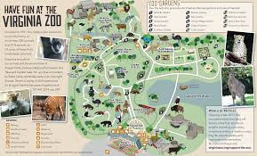 map of virginia zoo map virginia zoo in norfolk