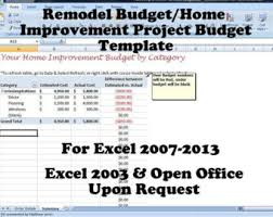 Excel Home Finance Template Monthly Budget Spreadsheet Home Finance Management Excel