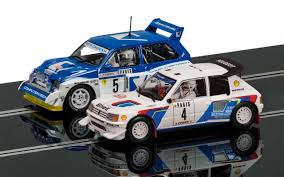 peugeot 205 t16 thunderbird slot racing scalextric classic collection peugeot