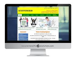 easy data posting job website design services classifieds ads