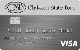Business Secured Credit Card Personal U0026 Business Credit Cards Clarkston State Bank