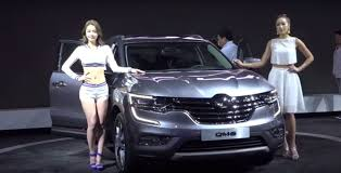 renault samsung renault samsung qm6 debuts in korea you may know it as the new