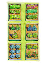 bountiful buffet vegetable garden plan