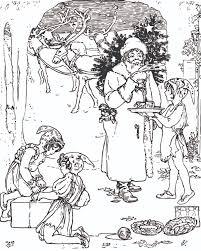 interesting coloring christmas doodle santa claus