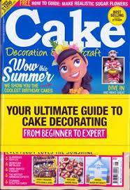 Cake Decorating Magazine Issues Cake Decoration Sugarcraft Magazine Subscription Buy At