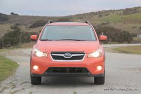 pink subaru review 2013 subaru xv crosstrek video the truth about cars