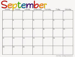 10 best images of free printable 2015 monthly calendars september