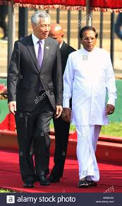 sri lankan l colombo sri lanka 23rd jan 2018 singapore s prime minister