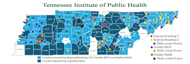 Tennessee Map Of Counties by Roadmap 2017 Png