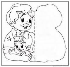 father u0027s coloring pages kids free printable preschool