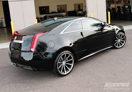 cadillac cts coupe rims 2011 cadillac cts coupe with 20 vossen cv1 in matte black