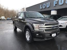 f18351 2018 ford f 150 platinum magma red metallic lou fusz