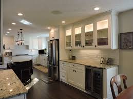 two tone cabinets in kitchen cabinet u0026 countertop store avon caruso u0027s cabinets