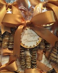 50th wedding anniversary party favors all about the presentation boutique style favors greenwich ct