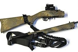 ruger 10 22 light mount giving the ruger 10 22 takedown a survival makeover recoil offgrid