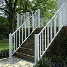 al13 aluminum adjustable stair panel by fortress decksdirect