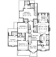 house plans with 2 master suites southern style house plan 5 beds 5 00 baths 4111 sq ft plan 54 154