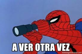Spiderman Meme Generator - a ver otra vez spiderman lunar eclipse meme generator