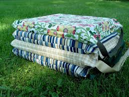 simple stadium cushions u2013 punkin patterns
